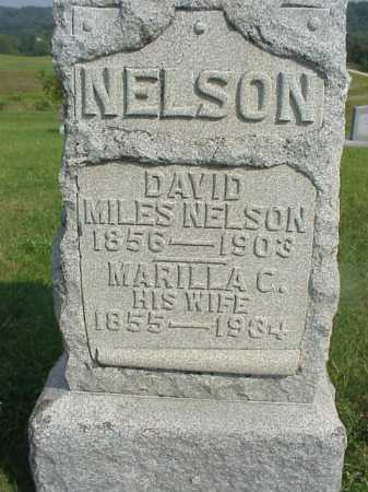 NELSON, MARILLA C. - Meigs County, Ohio   MARILLA C. NELSON - Ohio Gravestone Photos