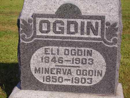 OGDIN, ELI - Meigs County, Ohio   ELI OGDIN - Ohio Gravestone Photos