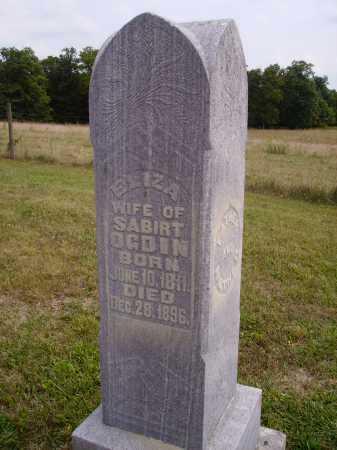OGDIN, ELIZA - Meigs County, Ohio   ELIZA OGDIN - Ohio Gravestone Photos