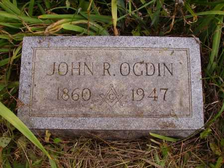 OGDIN, JOHN R. - Meigs County, Ohio | JOHN R. OGDIN - Ohio Gravestone Photos