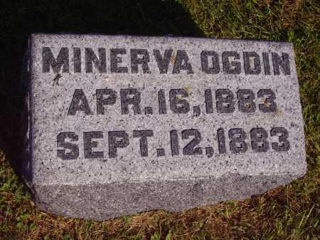 OGDIN, MINERVA - Meigs County, Ohio | MINERVA OGDIN - Ohio Gravestone Photos