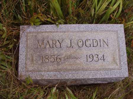 HIXON ODGIN, MARY J. - Meigs County, Ohio | MARY J. HIXON ODGIN - Ohio Gravestone Photos