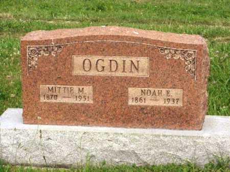 OGDIN, MITTIE M. - Meigs County, Ohio | MITTIE M. OGDIN - Ohio Gravestone Photos