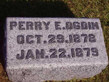 OGDIN, PERRY E. - Meigs County, Ohio | PERRY E. OGDIN - Ohio Gravestone Photos