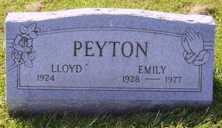 PEYTON, EMILY - Meigs County, Ohio   EMILY PEYTON - Ohio Gravestone Photos