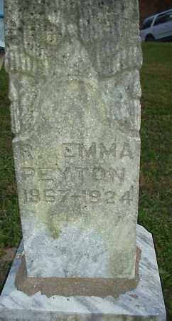 CARL PEYTON, R. EMMA - Meigs County, Ohio   R. EMMA CARL PEYTON - Ohio Gravestone Photos