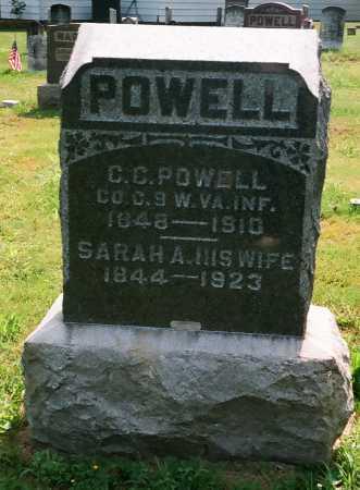 POWELL, SARAH - Meigs County, Ohio | SARAH POWELL - Ohio Gravestone Photos
