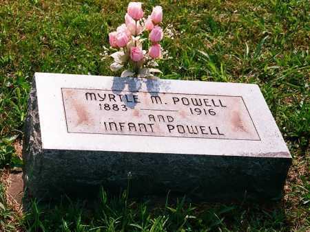 POWELL, INFANT - Meigs County, Ohio | INFANT POWELL - Ohio Gravestone Photos