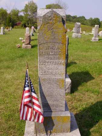 RAWLINGS, ETTA - Meigs County, Ohio | ETTA RAWLINGS - Ohio Gravestone Photos