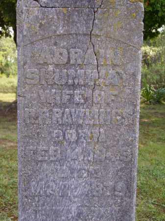 SHUMWAY RAWLINGS, CHARLOTTE ADRAIN - Meigs County, Ohio | CHARLOTTE ADRAIN SHUMWAY RAWLINGS - Ohio Gravestone Photos