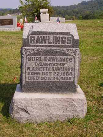 RAWLINGS, MURL - Meigs County, Ohio | MURL RAWLINGS - Ohio Gravestone Photos