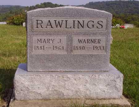 HULL RAWLINGS, MARY J. - Meigs County, Ohio | MARY J. HULL RAWLINGS - Ohio Gravestone Photos