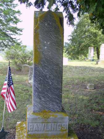 NELSON RAWLINGS, CLARINDA - MONUMENT - Meigs County, Ohio   CLARINDA - MONUMENT NELSON RAWLINGS - Ohio Gravestone Photos