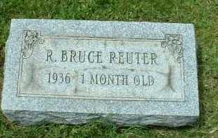 REUTER, R. BRUCE - Meigs County, Ohio   R. BRUCE REUTER - Ohio Gravestone Photos