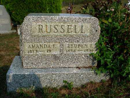 RUSSELL, REUBEN R. - Meigs County, Ohio | REUBEN R. RUSSELL - Ohio Gravestone Photos