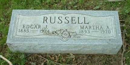 RUSSELL, EDGAR J. - Meigs County, Ohio | EDGAR J. RUSSELL - Ohio Gravestone Photos