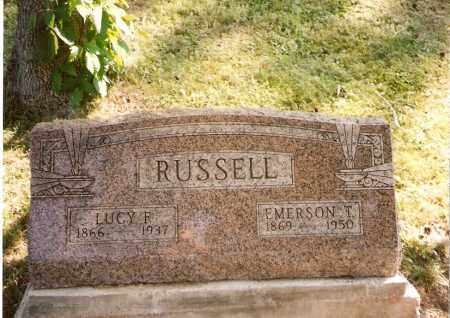 RUSSELL, EMERSON - Meigs County, Ohio | EMERSON RUSSELL - Ohio Gravestone Photos