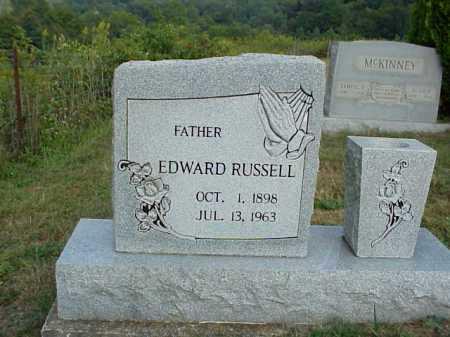 RUSSELL, EDWARD - Meigs County, Ohio   EDWARD RUSSELL - Ohio Gravestone Photos