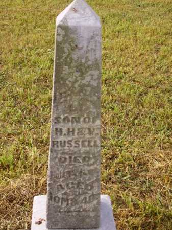 RUSSELL, FRANCIS G. - Meigs County, Ohio | FRANCIS G. RUSSELL - Ohio Gravestone Photos