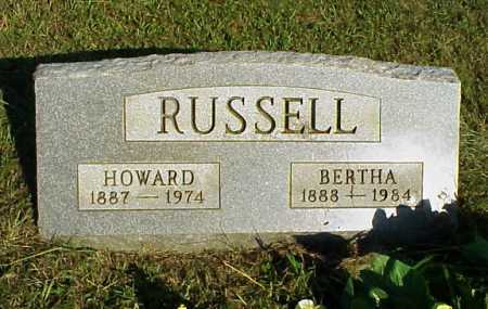 RUSSELL, BERTHA - Meigs County, Ohio | BERTHA RUSSELL - Ohio Gravestone Photos