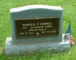 RUSSELL, HAROLD C. - Meigs County, Ohio   HAROLD C. RUSSELL - Ohio Gravestone Photos