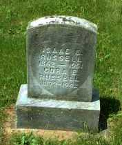 RUSSELL, ISAAC E. - Meigs County, Ohio   ISAAC E. RUSSELL - Ohio Gravestone Photos