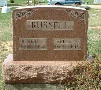 RUSSELL, ROBERT E. - Meigs County, Ohio | ROBERT E. RUSSELL - Ohio Gravestone Photos