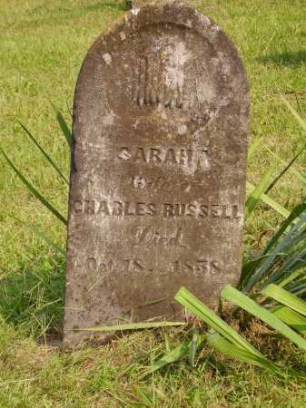 RUSSELL, SARAH A. - Meigs County, Ohio   SARAH A. RUSSELL - Ohio Gravestone Photos