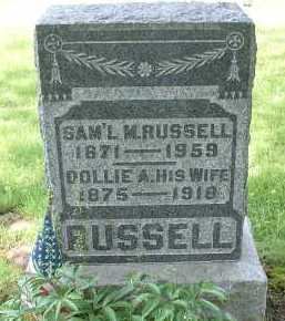 HACKETT RUSSELL, DOLLIE A. - Meigs County, Ohio | DOLLIE A. HACKETT RUSSELL - Ohio Gravestone Photos