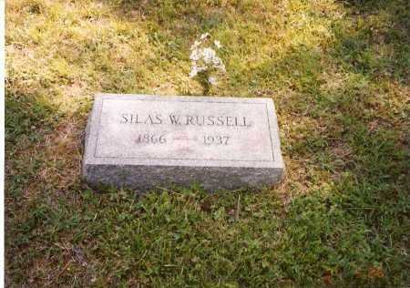 RUSSELL, SILAS W. - Meigs County, Ohio | SILAS W. RUSSELL - Ohio Gravestone Photos