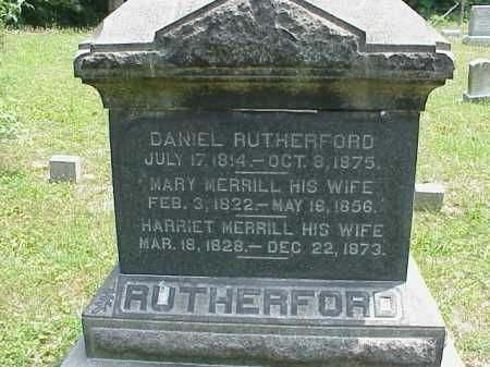 RUTHERFORD, HARRIET - Meigs County, Ohio | HARRIET RUTHERFORD - Ohio Gravestone Photos