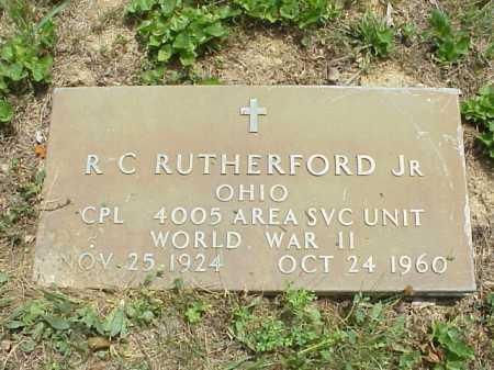 RUTHERFORD, R. C. JR. - Meigs County, Ohio   R. C. JR. RUTHERFORD - Ohio Gravestone Photos