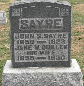 SAYRE, JOHN S. - Meigs County, Ohio | JOHN S. SAYRE - Ohio Gravestone Photos