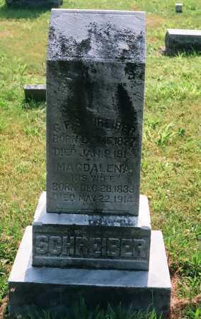 SCHREIBER, GEORGE F. - Meigs County, Ohio | GEORGE F. SCHREIBER - Ohio Gravestone Photos