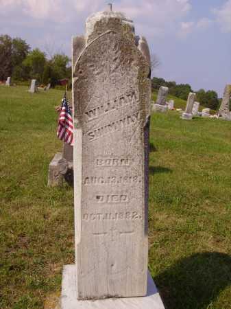 SHUMWAY, WILLIAM - Meigs County, Ohio | WILLIAM SHUMWAY - Ohio Gravestone Photos