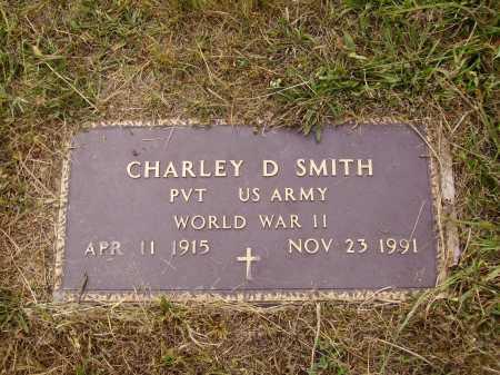 SMITH, CHARLEY D. - Meigs County, Ohio | CHARLEY D. SMITH - Ohio Gravestone Photos