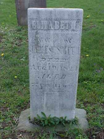 SMITH, ELIZABETH - Meigs County, Ohio   ELIZABETH SMITH - Ohio Gravestone Photos