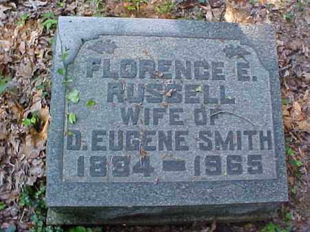 SMITH, FLORENCE E. - Meigs County, Ohio | FLORENCE E. SMITH - Ohio Gravestone Photos