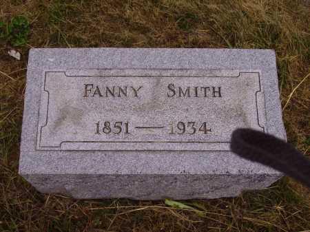 SMITH, FANNY - Meigs County, Ohio | FANNY SMITH - Ohio Gravestone Photos