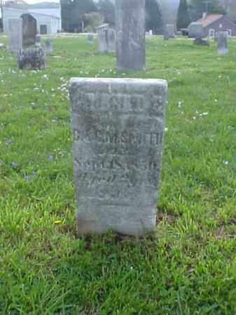 SMITH, GILBERT E. - Meigs County, Ohio | GILBERT E. SMITH - Ohio Gravestone Photos