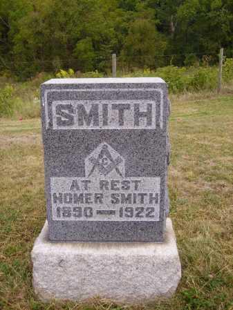 SMITH, HOMER - Meigs County, Ohio   HOMER SMITH - Ohio Gravestone Photos