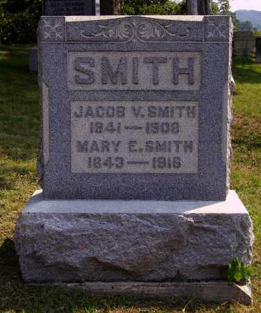 SMITH, MARY E. - Meigs County, Ohio   MARY E. SMITH - Ohio Gravestone Photos