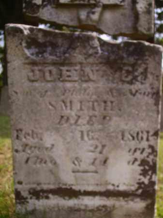 SMITH, JOHN E. - Meigs County, Ohio | JOHN E. SMITH - Ohio Gravestone Photos