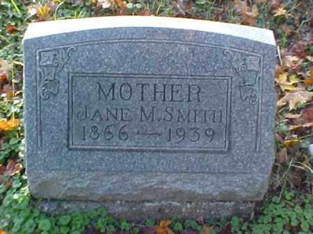 SMITH, JANE M. - Meigs County, Ohio | JANE M. SMITH - Ohio Gravestone Photos