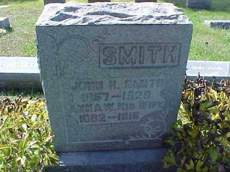 SMITH, ANNA W. - Meigs County, Ohio | ANNA W. SMITH - Ohio Gravestone Photos
