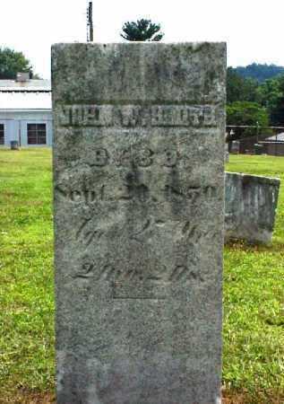SMITH, JOHN W. - Meigs County, Ohio   JOHN W. SMITH - Ohio Gravestone Photos