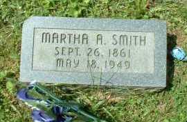SMITH, MARTHA A. - Meigs County, Ohio | MARTHA A. SMITH - Ohio Gravestone Photos