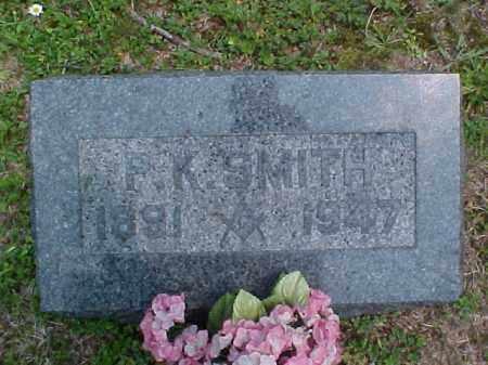 SMITH, P.K. - Meigs County, Ohio | P.K. SMITH - Ohio Gravestone Photos