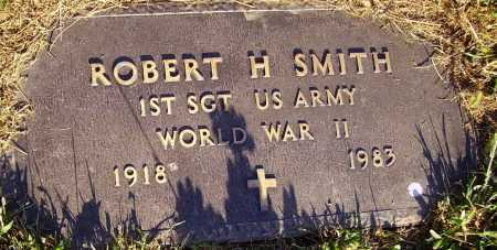 SMITH, ROBERT H. - MILITARY - Meigs County, Ohio | ROBERT H. - MILITARY SMITH - Ohio Gravestone Photos
