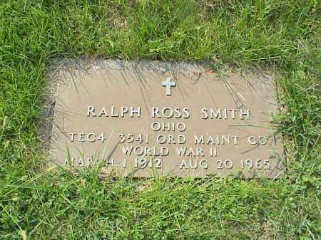 SMITH, RALPH ROSS - Meigs County, Ohio | RALPH ROSS SMITH - Ohio Gravestone Photos